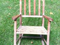 Rocking chair from circa 1800. Excellent condition.