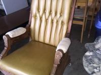 Victorian glider rocker. 1800-1910. Needs to be re