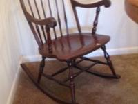 Antique rocking chair and 2 seater kitchen