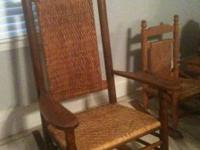 Have a nice Antique Rocking Chair - all fitted solid