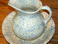 This Robinson Ransbottom Pottery Company Blue Sponge