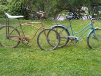 i have two Schwinn bicycles i know nothing about
