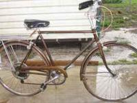 schwinn & nice vintage bike rack is not included on
