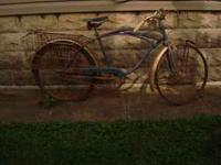 Very old Schwinn guys bike. It includes all the