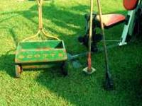 For Sale: Antique Scott's Seed/Fertilizer Spreader.