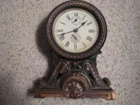 Offered is a very nice Seth Thomas clock with alarm. It
