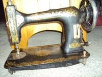 "For Sale:    Antique ""Florence Rotary"" treadle sewing"