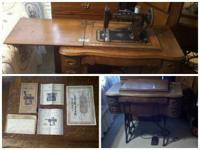 I have an antique Sewing Machine for sale. It was