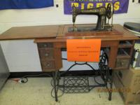Antique Minnesota Treadle (Manual) Sewing Machine