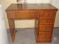 This is a must see! Beautiful antique sewing table! The