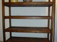 Wonderful solid wood refinished rack used in a shoe