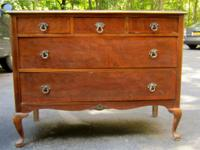 Antique Showers Bros 5 Drawer Dresser - est. to be