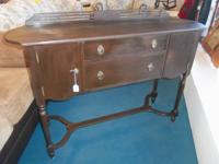 SIDEBOARD FROM MID 1800'S, BEAUTIFUL WALNUT SURFACE