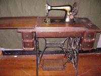 I have an antique Singer Sewing Machine for sale. I