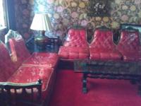 Antique Sofa and Dining Set for SALE Antique solid wood