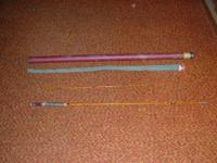 7.5 foot antique fly rod by South Bend-