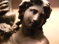 Roman Goddess figural lamp $75.00 Roman Chariot $65.00