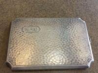 Art Deco period cigarette case up for your