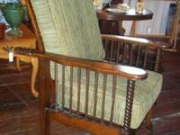 Beautifully preserved antique Morris Mission recliner!