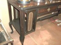 Antique 19th Century English Rosewood Hall Table. 6