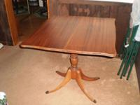 "Antique Table with"" secret drawer "". Older and in Great"