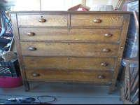 This dresser is in good condition needs a little tlc.