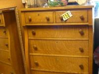 Antique Sideboard Buffet Quarter Sawn Tiger Oak With