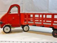 Antique TOYS for SALE: Wind Up Tin Toy Truck $ 550.00