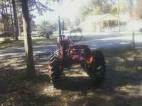 I HAVE A VERY RARE ANTIQUE TRACTOR ITS A MCCORMICK