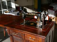 A rare Iowa Model Sears Roebuck Treadle Sewing Machine