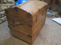 Antique trunk for sale  Very clean - nice condition  27