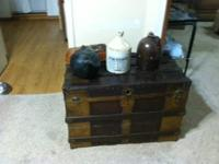 This trunk probably dates back to about 1905 It will