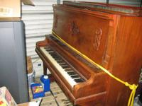 I have a antique piano from either late 1800's early