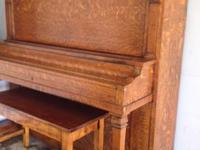 Kingsbury Antique Upright Piano circa 1915-1920 made by