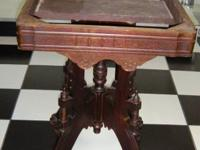 Lovely Antique Victorian Walnut Side table, accent