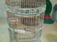 These are very rare giant Old Mexico Parrott Bird Cage