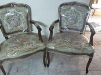 These are older antique chairs, have been lying around