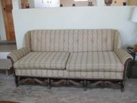 Antique Victorian Sofa Originaly from Watertown's Old