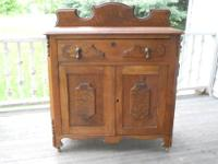 Antique Victorian cabinet or commode made circa 1880 in