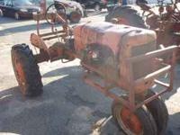 For sale is an Antique Vintage 1943 Allis Chalmer C
