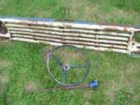 Antique/Vintage 1966-1967 Ford truck parts. Grill,
