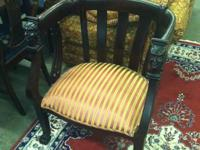 Available right here is a ANTIQUE CHAIR WITH A CARVED