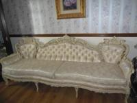 Antique French Provincial Sofa from the 1950's - 1960's