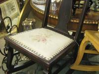 We have several antique and vintage rocking chairs to