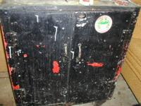I have for sale a antique/vintage metal cabinet that
