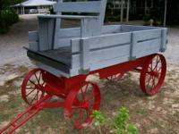I have my antique wagon for sale.  It has a heavy metal