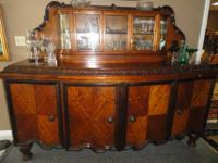 GORGEOUS ANTIQUE BUFFET/SERVER $2,900.00-$500 FRI & SAT