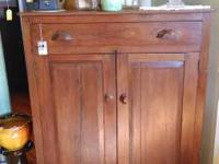 Antique Walnut Pie Safe, very early 1800's.