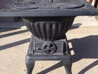 Wehrle company stove made in Newark Ohio Moose 228 no.