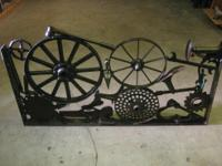 Two different antique welded pieces The two sculptures